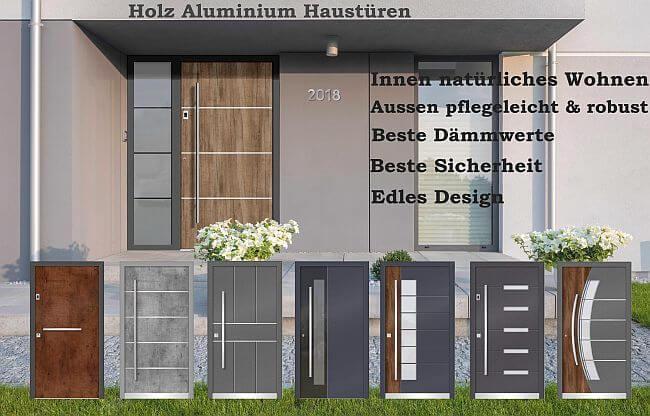 Ks Hausbau24 Haustüren Aluminium Haustüren Holz Haustüren Holz Alu
