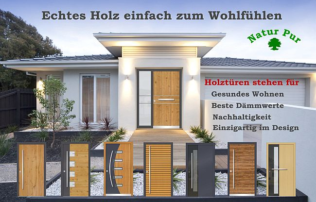 haust ren aluminium haust ren holz haust ren holz alu ks hausbau24. Black Bedroom Furniture Sets. Home Design Ideas